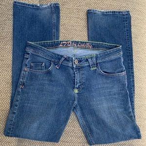 L7B Mid Rise Straight Leg Jeans by Little Big